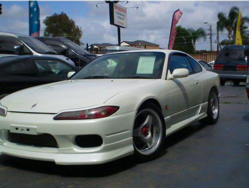 S15 200sx at the dealer