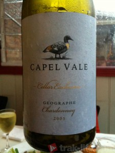 Capel Vale Geographe - One of the best value Chardonnay around.