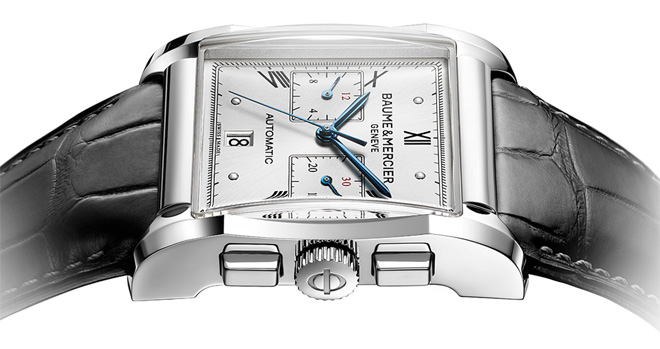 Baume and Mercier's Hampton range is one of the more consistently priced models when it comes to affordable luxury watches. (Image: Baume & Mercier)