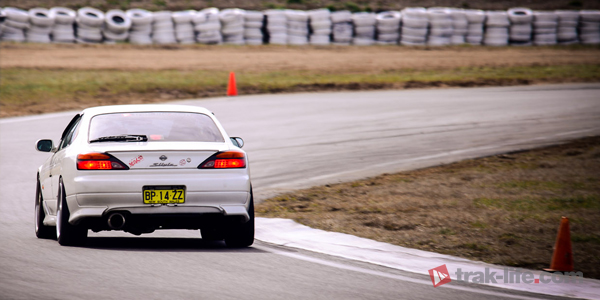 Nissan Silvia 200SX S15 Pearl at Wakefield trackday