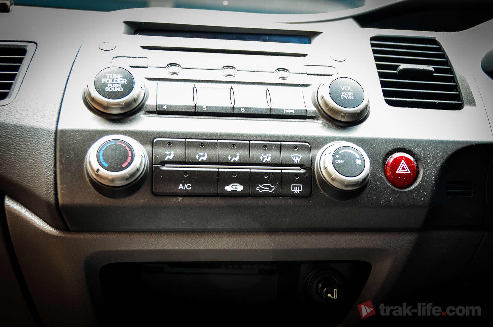 Car stereo aux connector