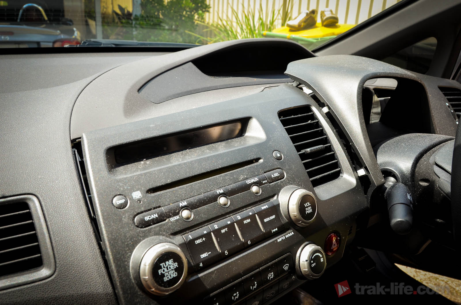 MP3 AUX Honda Civic - 08