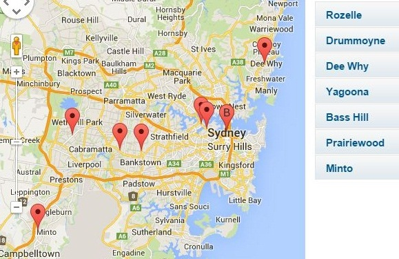 United E85 locations sydney