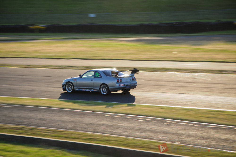 WTAC 2014 Chequered tuning R33
