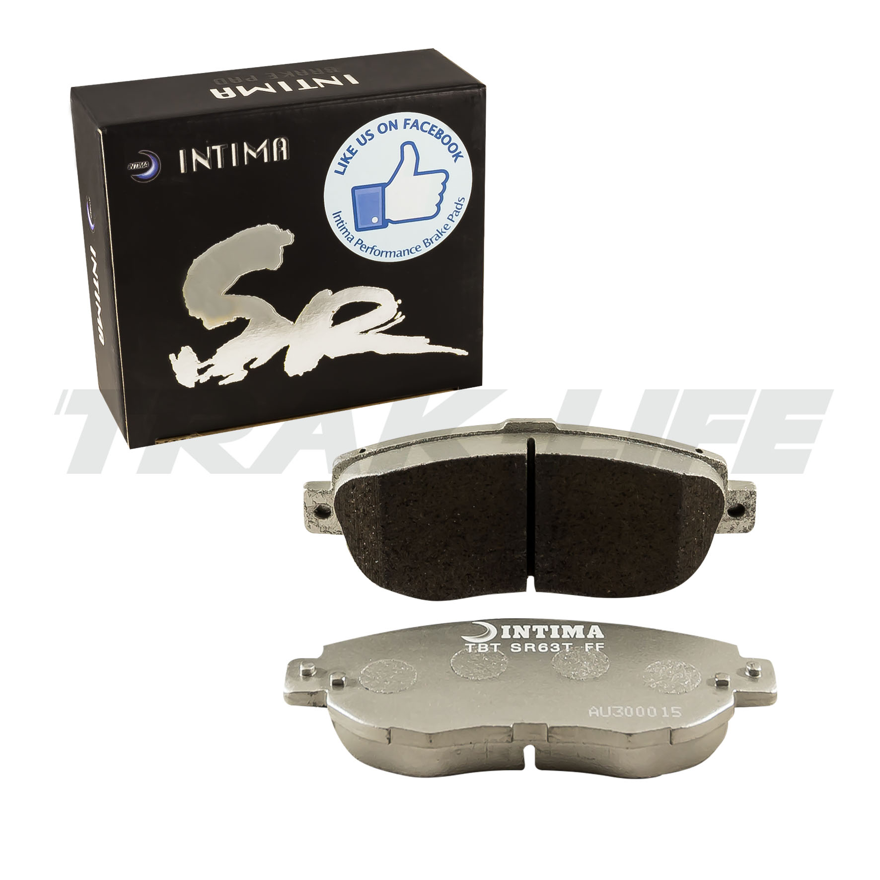 Intima SR Rear Brake Pads for GS300, Supra JZA80 2 pot, Soarer