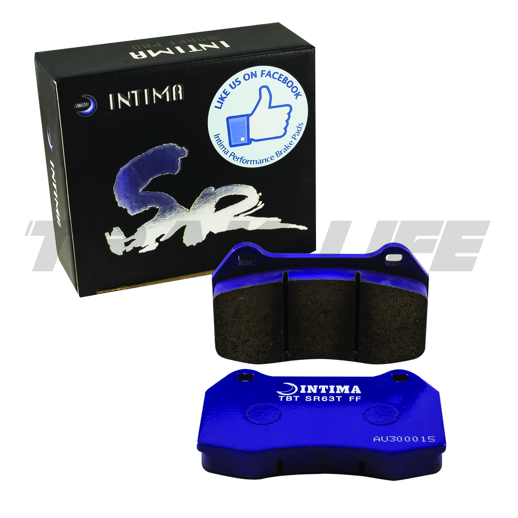 Intima SR Front Brake Pads for IS200, IS300, GS300, Supra JZA80 2 pot,  Soarer, JZX90, JZX100 & Aristo