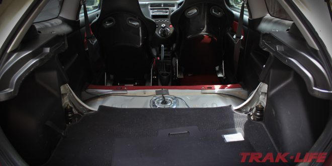 DIY: Rear Seat Removal Civic EP3 Type R