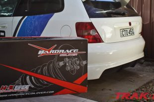 Hardrace H-S Coilover install