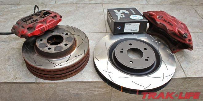 Brembo S15 Brake Upgrade