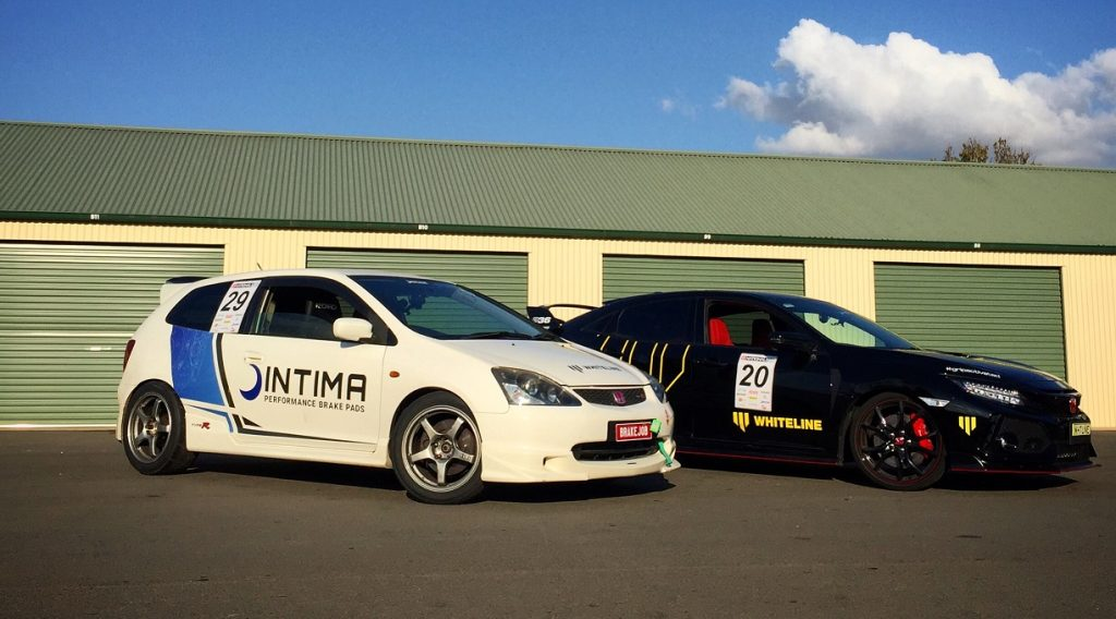 Intima Brakes EP3 Type R and FK8 Type R