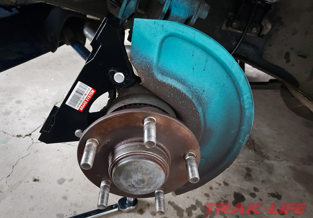 D2 Big Brake Kit Review adaptor