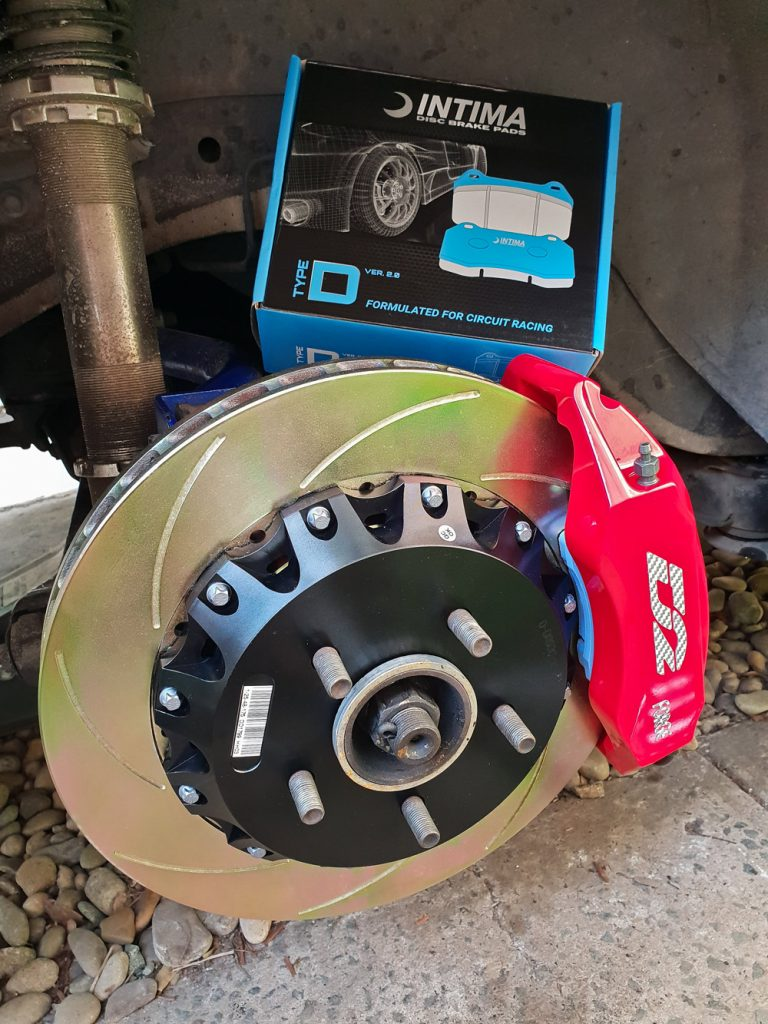 D2 Big Brake Kit Pearl S15 Rear
